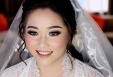 Bride today for Lisa by Lili Mailidia MakeUp