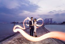 Casual Couple [Night/ Day] Photography - Priscilla & Jing Wen by Knotties Frame