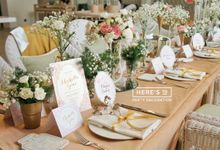 Michelle Gouw Flower Bridal Shower by Here's To_