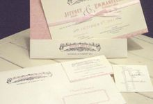 Lala & Jeff's Wedding by Papeterie Party Designer