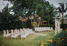 Candace & Farhan at Mannao by baliVIP Wedding