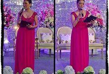 Weddings on 2014 by Becky Tumewu