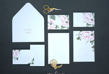 LEWINSKY & MARIO WEDDING INVITES by Pentone Craft and Paper