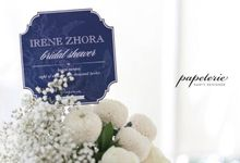 Here comes the bride, Irene Zhora by Papeterie Party Designer