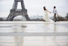 Engagement|Yuddy&Narita - Elegant Winter Love in Romancing Paris by The Wagyu Story