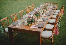 Canggu Beachfront Sit Down Dinner by DIJON BALI CATERING