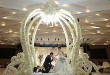 The Wedding of David & Junisia by Poise Room Wedding Organizer