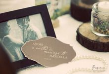 Lovely Rustic Wedding - The Wedding of Andri and Marcella by Papeterie Party Designer