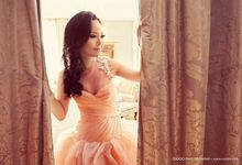 Pre-wedding makeup and hair by Palapa International