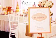 """""""Classy Vintage Romance"""" - Wedding Exhibition by Papeterie Party Designer"""