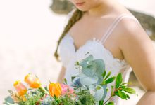 Robin & Dholly Intimate Beach Wedding by CamZar Photography