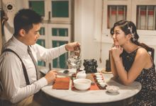 CASUAL COUPLE [NIGHT] PHOTOGRAPHY - PRISCILLA & WEILIANG by Knotties Frame