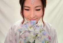 Traditional Korean Hanbok makeup and hair by Stephy Ng by Stephy Ng Makeup and Hair