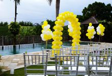 Wedding  Jose Gilberto Dos Santos & Jo Michelle Durkin by Nagisa Bali