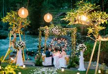 Intimate Wedding by the Ayung Riverside - 25th April 2017 by The Samaya Ubud, Bali
