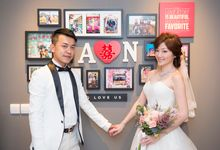 Singapore Actual Day Wedding - Alvin & Nicole - Outdoor & ROM by MamboStevie Photography Mo-Works