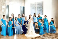 Turquoise Blue and Midnight Blue Themed Wedding by NQ Modern Photography
