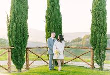 Arnold & Janet Intimate Tuscan Wedding by CamZar Photography