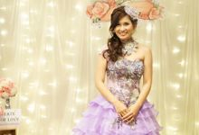 Photo booth backdrop setup and styling by Cinderella Dream