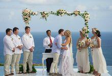 KARA & JAMIE by Silver Lace Weddings & Events Bali