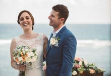 Nicole & Stephen by Silver Lace Weddings & Events Bali