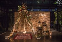 Sujev & Vijeeta - New Zealand Inspired Vintage Rustic Wedding Reception by Blissmoment