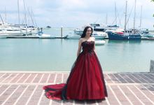 Ocean Themed Pre-Wedding Photography by L'umiére Weddings Singapore