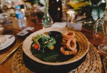 Tropical Colonial Elegance Wedding with Indonesian Set Menu Food Service by DIJON BALI CATERING