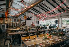 Tropical Quirky Wedding by LITTLE ISLAND BREWING CO.