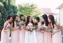 Actual Weddings by Le voeu (Bridesmaids)