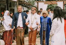 Atri Falah outdoor wedding by alienco photography