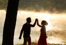 Iman  Vika Prewedding teaser by alienco photography