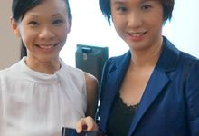 Awarded by SG Parliamentary Secretary (MP), Ms Low Yen Ling by Stephy Ng Makeup and Hair