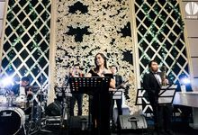 Pandu & Cathy Wedding by Voyage Entertainment