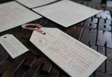 Katherine & Tim by D&d Letterpress