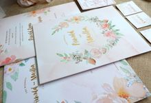 Rustic Floral Watercolor by Mille Paperie