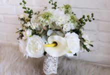 Natural White and Green by Cup Of Love Design Studio