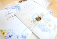 Vellum Paper and Wax Seal by Mille Paperie