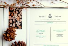 Tenny and Jason by Knotted Studio