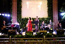 Hotel Borobudur Jakarta Aufar & Audy wedding by Lemon Tree Entertainment