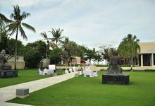 Wedding Dinner of Kenny & Clarissa by The Royal Santrian Luxury Beach Villa