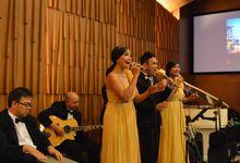 Julius & Stefani Wedding September 2015 by Nico Santoso Entertainment