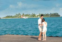 Ophelia and Louis Honeymoon in Maldives by Asad's Photography