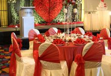 Wedding theme - Dream of Roses by Furama City Centre