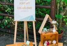 Modern Geometric - Jeremy & Charlene by Amperian