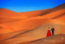 Dubai Prewedding by Edwin Tan Photography