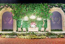 The wedding of Aydhil & Tias by Alleka Design