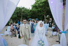 WEDDING OF EMYLIA & AHMED by Courtyard by Marriott Bali Nusa Dua