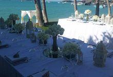 Beach Wedding in Luxury Beach Villa by Go Samui Catering
