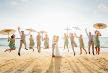 Destination Wedding of Alex and Ramona by Unique Wedding and Events